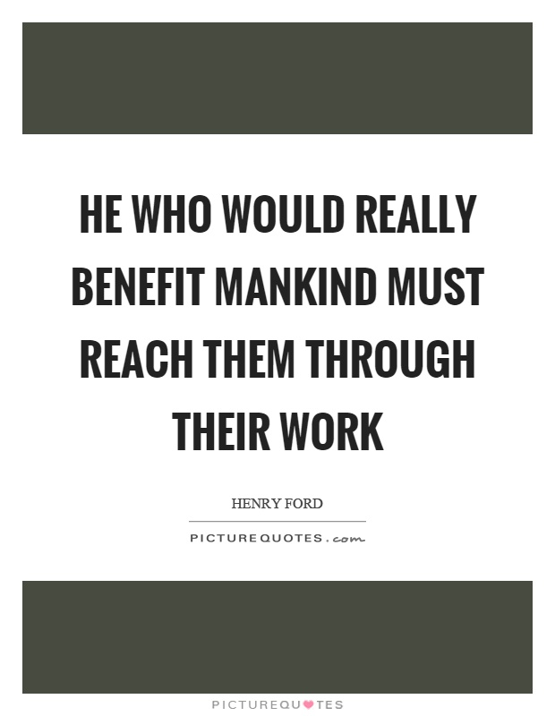 Amazing Henry Ford Sayings