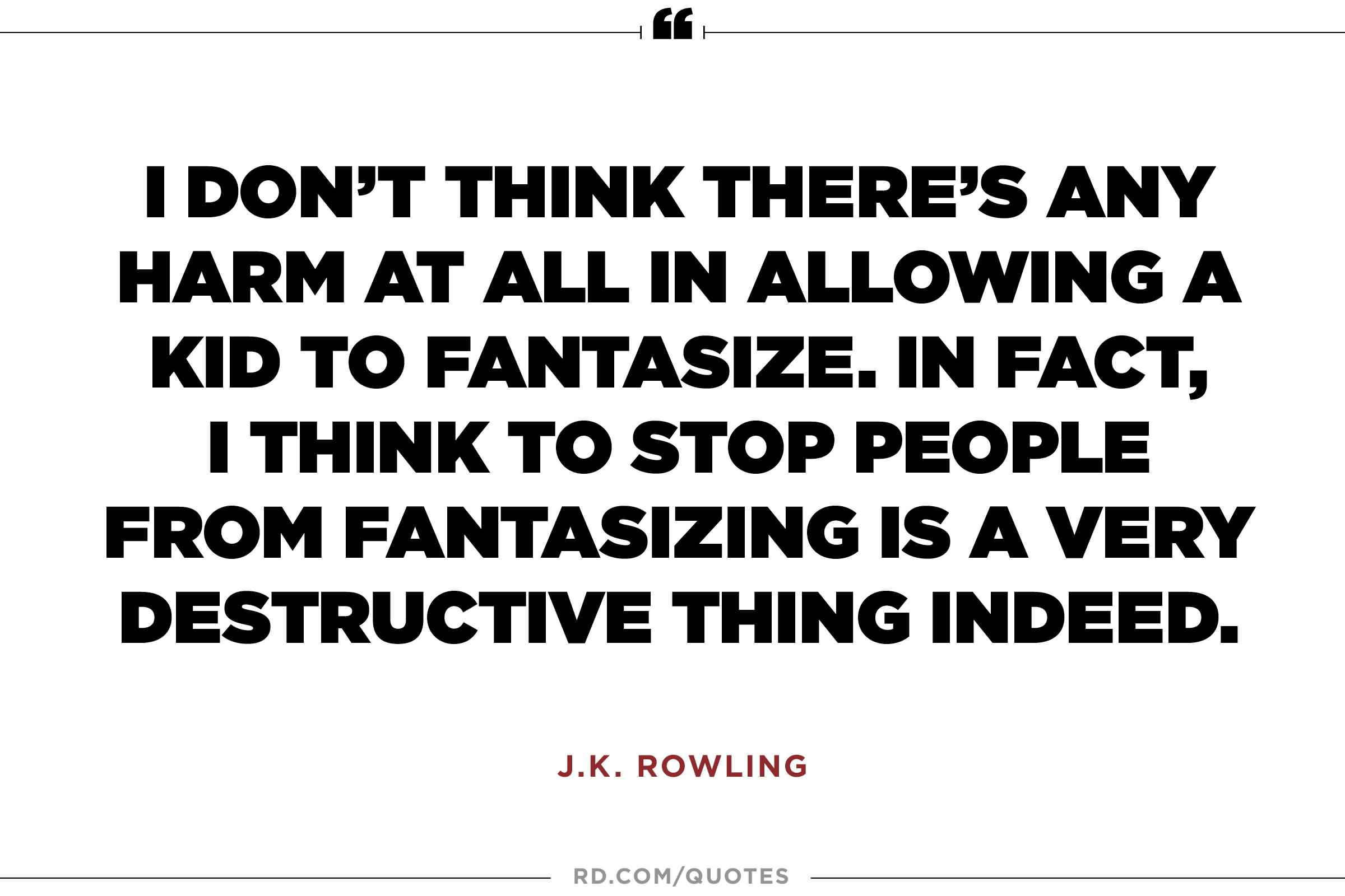 Amazing J K Rowling Quotes