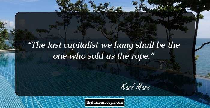 Amazing Karl Marx Quotations