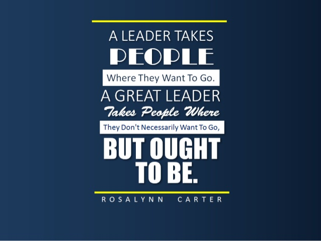 Amazing Leader Quotations