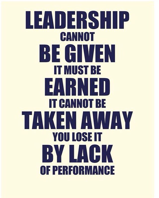 Amazing Leader Sayings