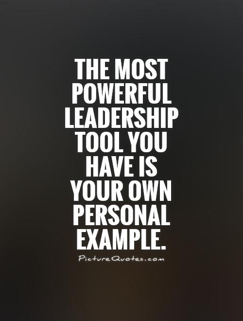Amazing Leadership Quotations and Quotes