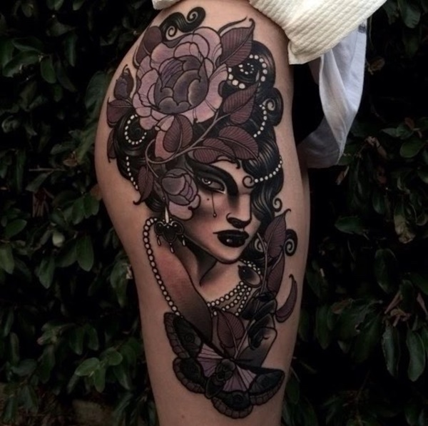 Amazing Leg Tattoo Designs