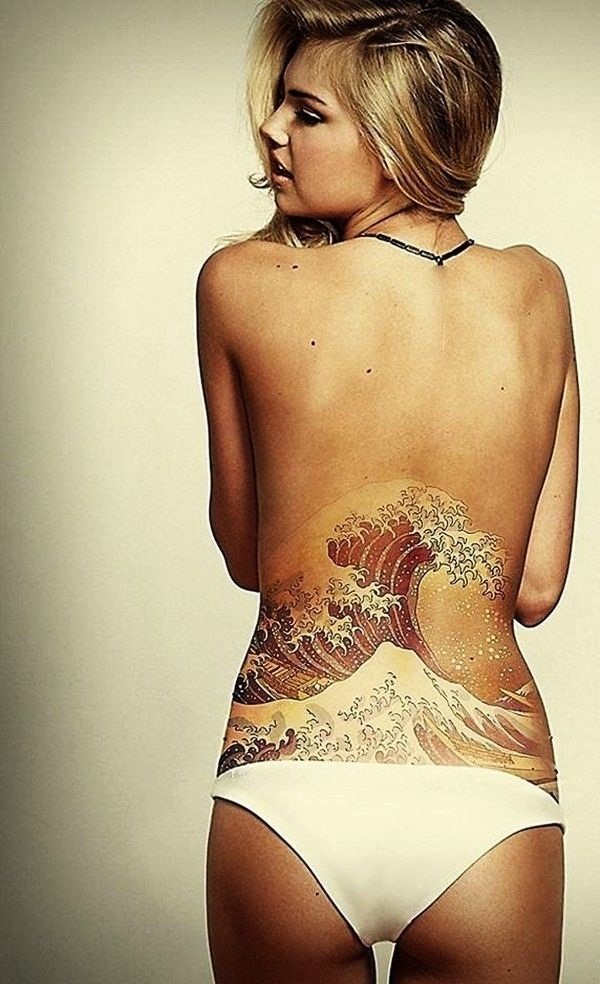 Amazing Lower Back Tattoo