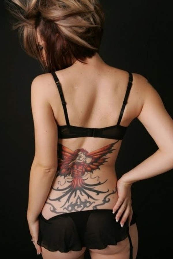 Amazing Lower Back Tattoos Designs
