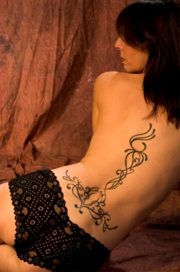 Amazing Lower Back Tattoos