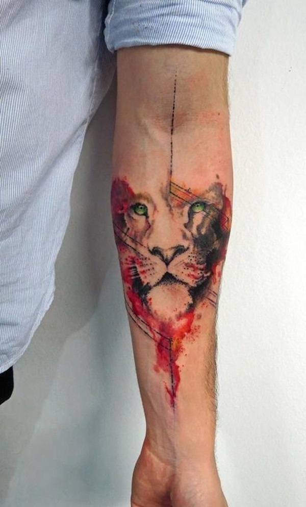 Amazing Red Ink Tattoos