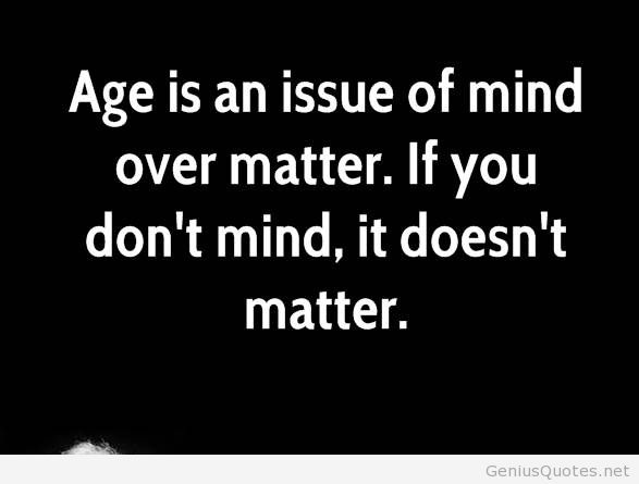 Attractive Age Quotation