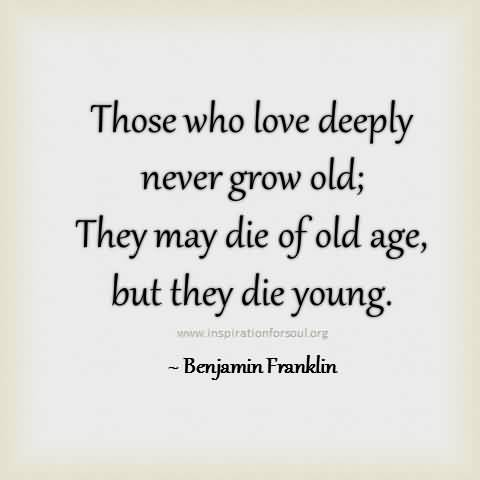Attractive Age Quotations and Sayings