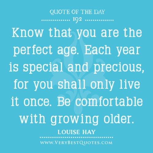 Attractive Age Quotes