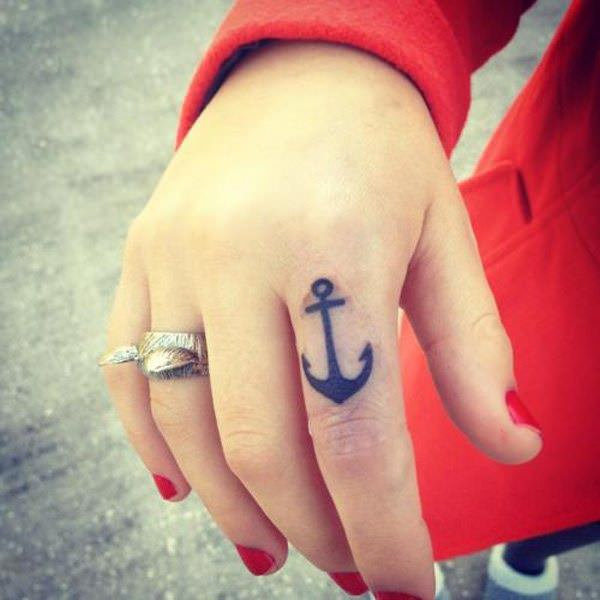 Attractive Anchor Tattoos Design