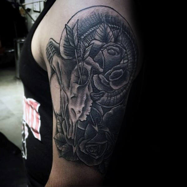 Attractive Aries Tattoos Designs