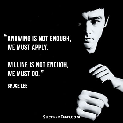 Attractive Bruce Lee Quotation and Sayings