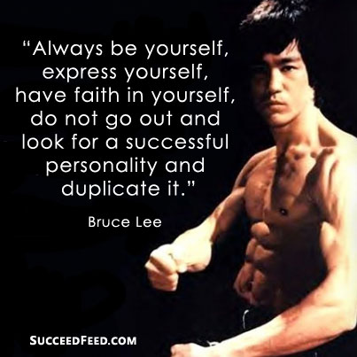 Attractive Bruce Lee Quotations and Sayings