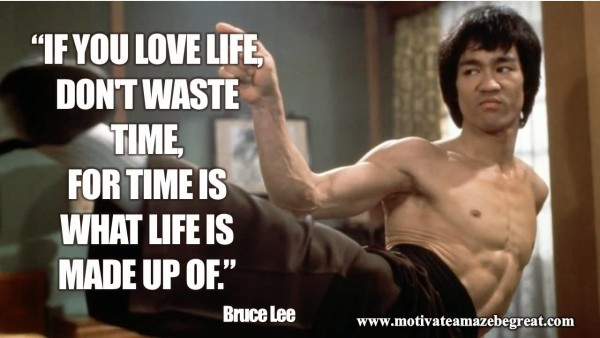 Attractive Bruce Lee Quotations