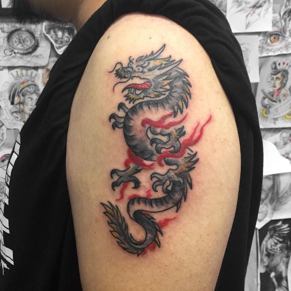 Attractive Chinese Tattoo Designs
