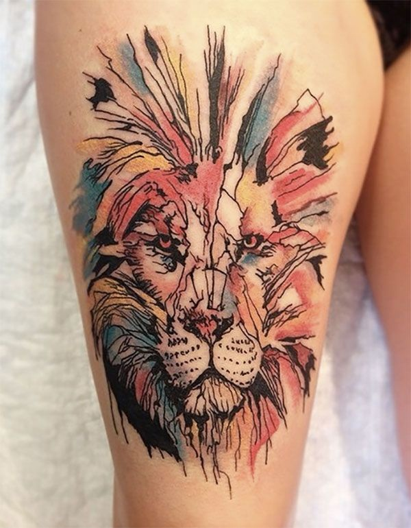 Attractive Colorful Tattoos