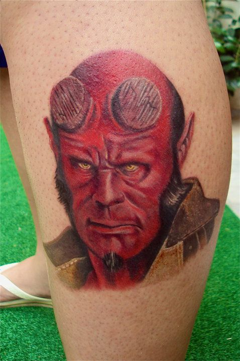 Attractive Comic Tattoos Designs