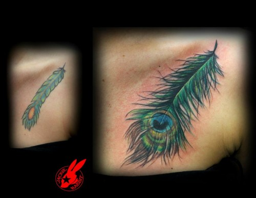 Attractive Cover Up Tattoos Designs