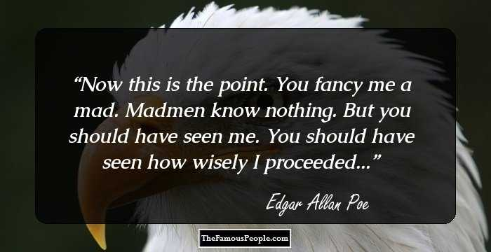 Attractive Edgar Allan Quotations and Sayings