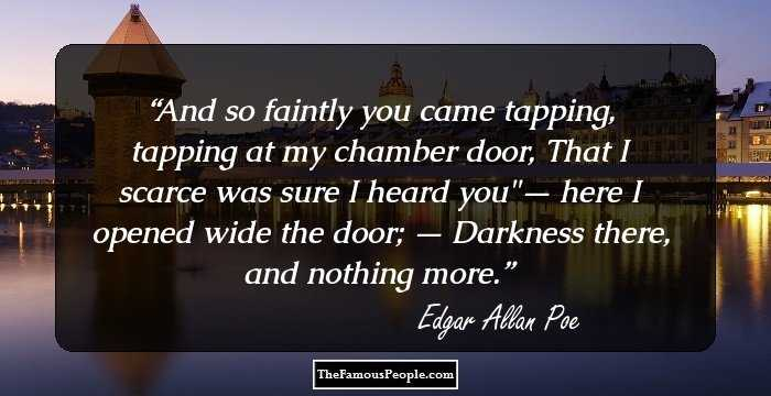 Attractive Edgar Allan Quotations