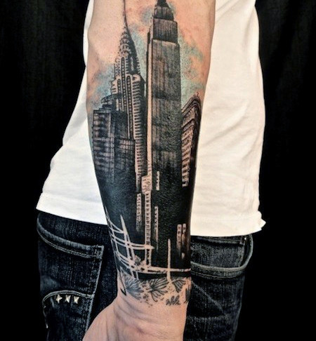 Attractive Forearm Tattoo Designs