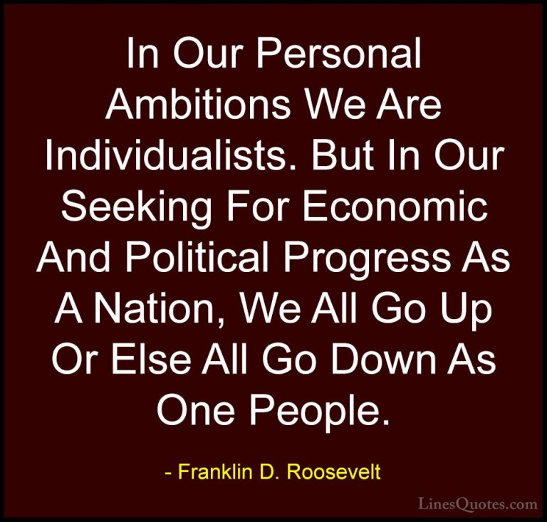Attractive Franklin D Roosevelt Quotes