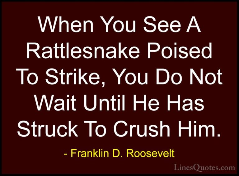 Attractive Franklin D Roosevelt Sayings
