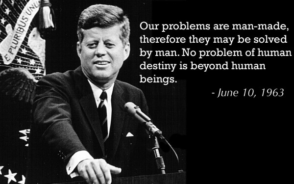 Attractive John F. Kennedy Quotes