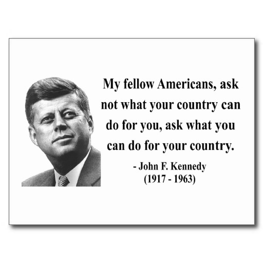 Attractive John F. Kennedy Sayings