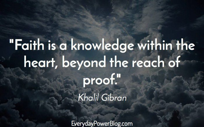 Attractive Khalil Gibran Sayings