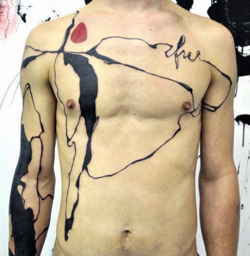 Awesome Abstract Tattoo Designs