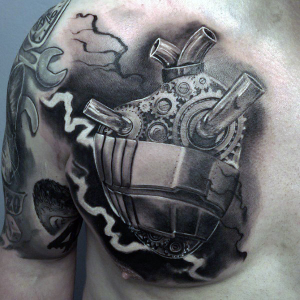 Awesome Abstract Tattoo