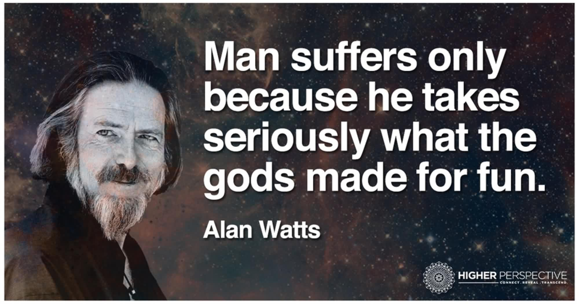 Awesome Alan Watts Quotes