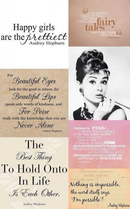 Awesome Audrey Hepburn Quotes