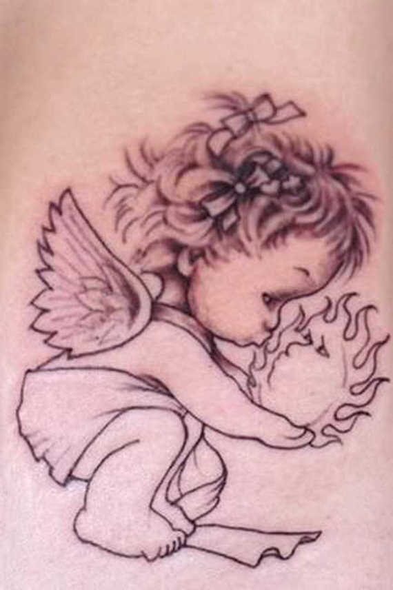 Awesome Baby Tattoo Designs