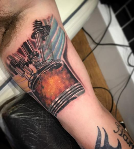 Awesome Bicep Tattoo Designs