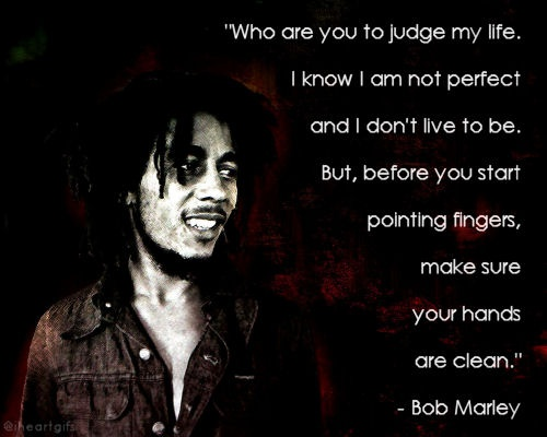 Awesome Bob Marley Quotations