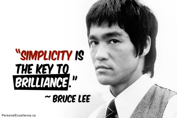 Awesome Bruce Lee Quotations and Sayings