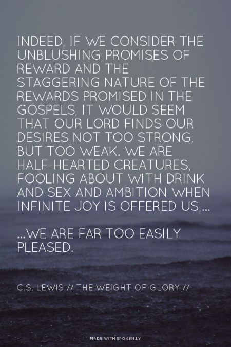 Awesome C.S. Lewis Quotations and Sayings