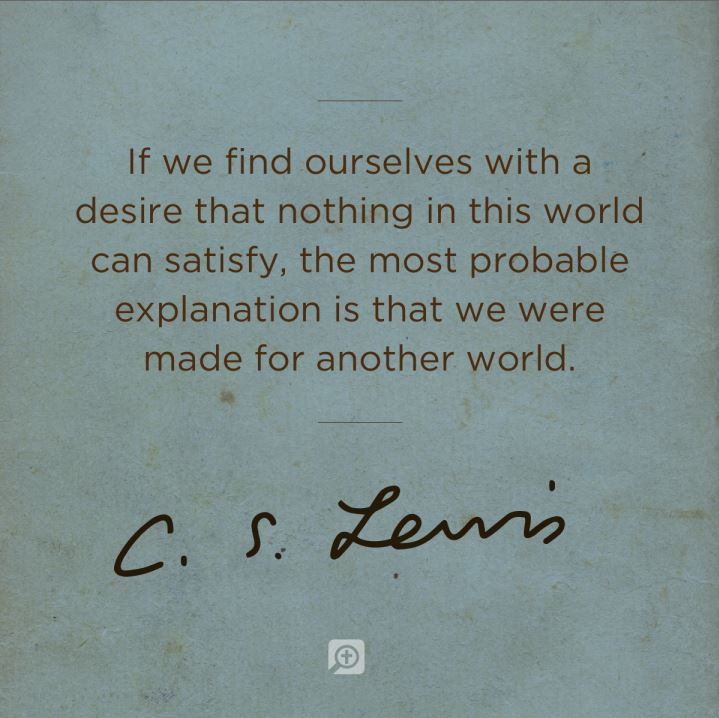Awesome C.S. Lewis Quotations