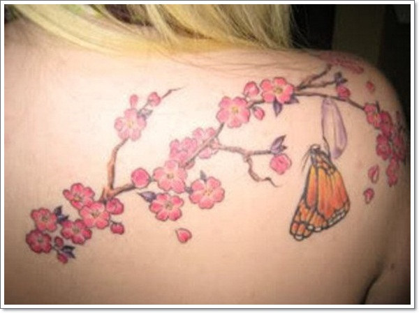 Awesome Cherry Tattoo Designs