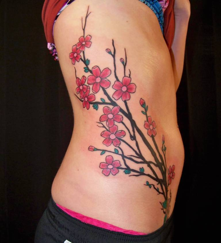 Awesome Cherry Tattoos