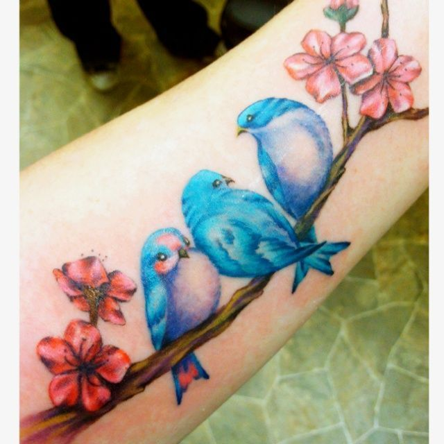 Awesome Colorful Tattoo Designs