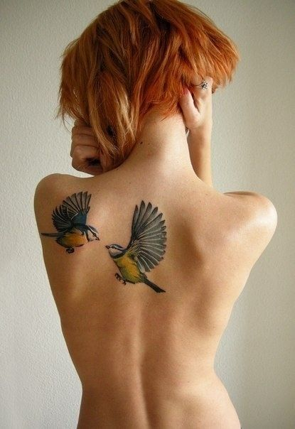Awesome Colorful Tattoos Designs