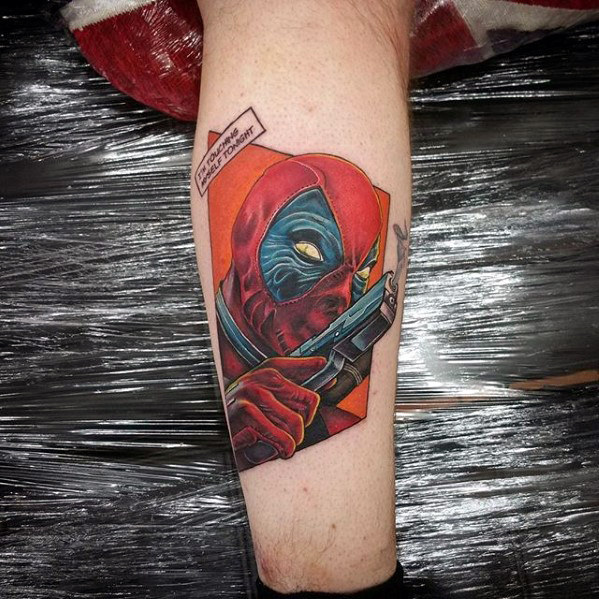 Awesome Comic Tattoo