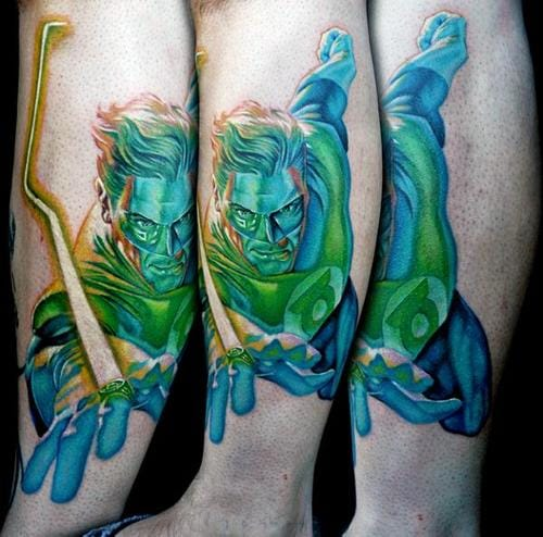 Awesome Comic Tattoos Design