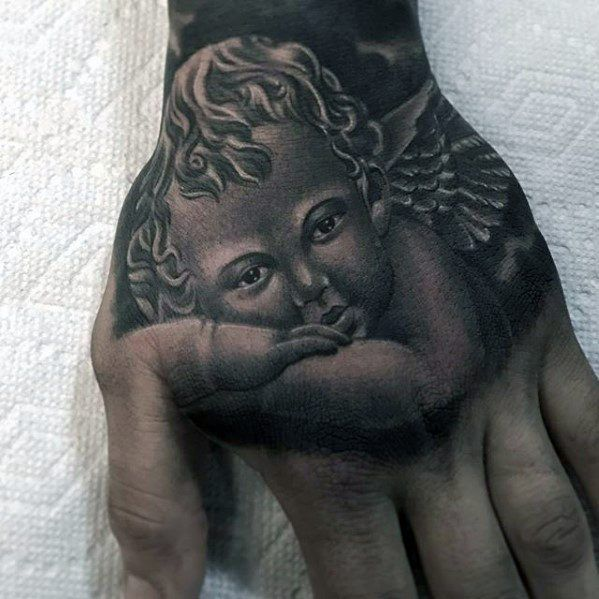Awesome Cover Up Tattoo Design