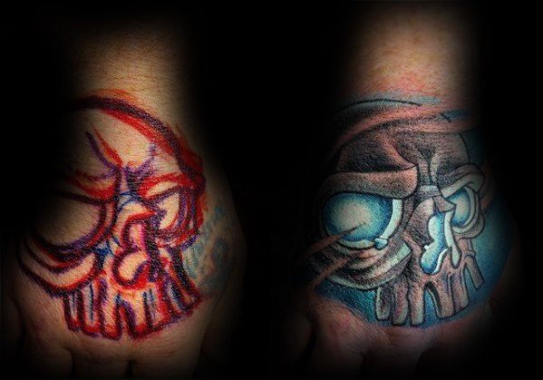 Awesome Cover Up Tattoos Designs