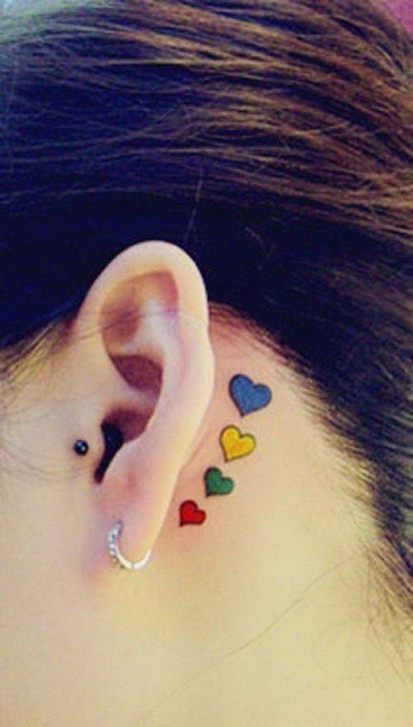 Awesome Ear Tattoo